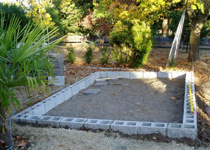 Concrete Block Shed Foundation
