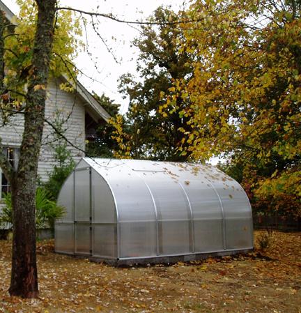 Riga greenhouse complete