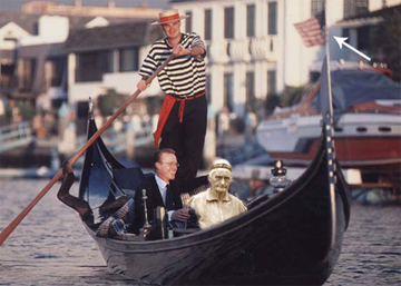 Tillie in Venice