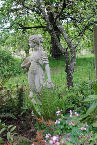 Flora the garden statue