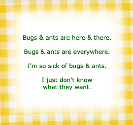 bugs & ants