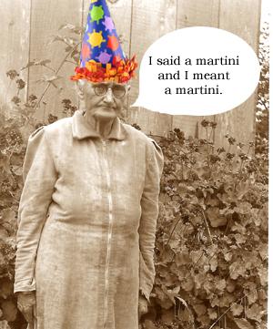 Tillie celebrates