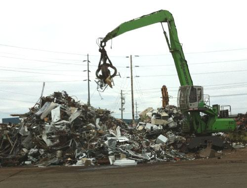 trash sorter machine
