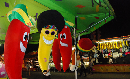large fruit and vegetable carnival prizes