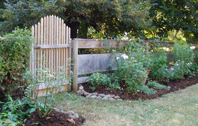gate and fence border