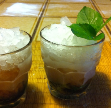 Oregon mint julep