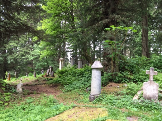 Sitka Russian cemetery