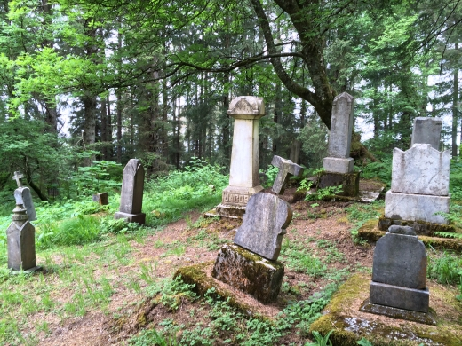 Russian cemetery in Sitka